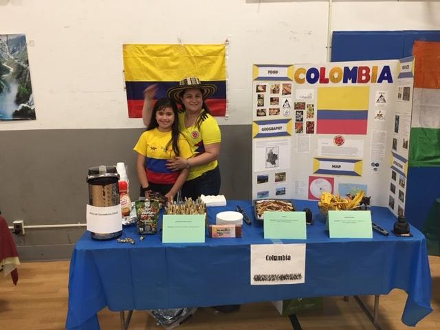 International Table Columbia