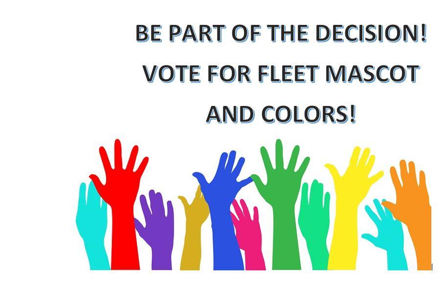 Fleet Votes for Mascot & School Colors!