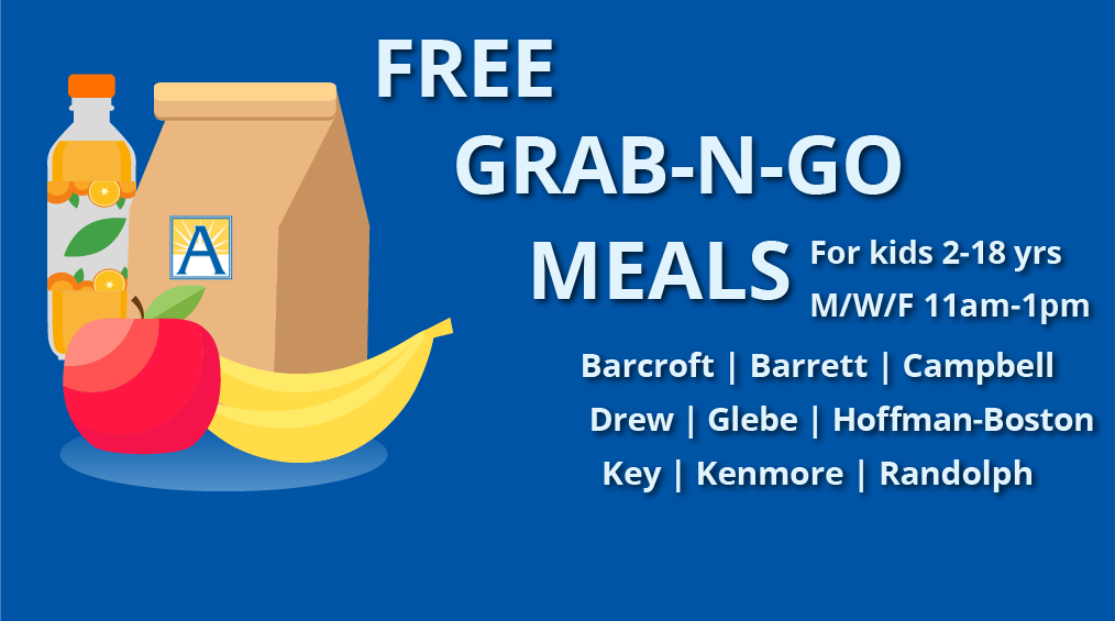 Free Grab & Go Breakfast and Lunches Mon/Wed/Fri