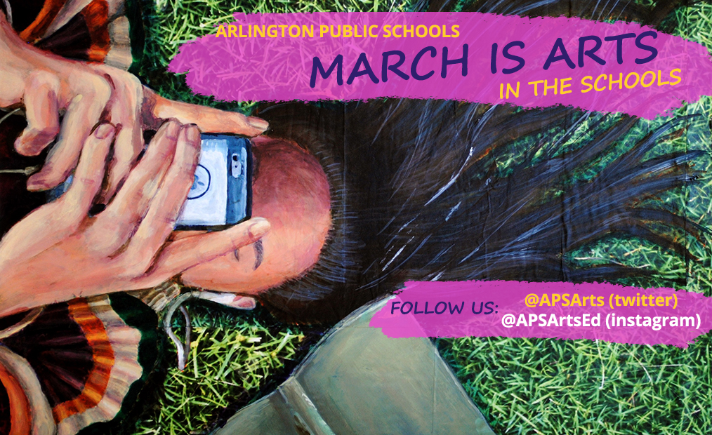APS Celebrates March is Arts in the Schools Month