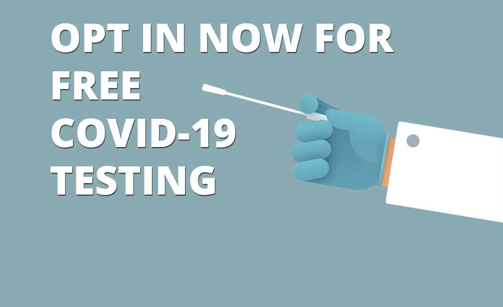 Opt In for Free Testing
